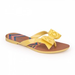 Chinelo PVC Yellow Smile PJ1319