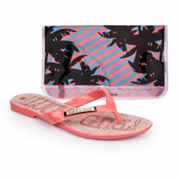 Kit Chinelo  Lucky Girl (Rosa Coral)