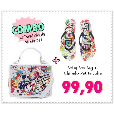 COMBO BOX BAG PJ3051 + CHINELO PJ3053